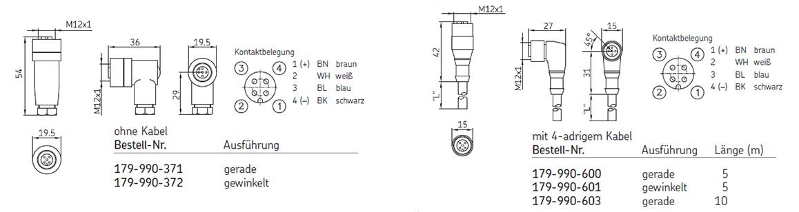 SKF Schraubstecker für Zyklenschalter