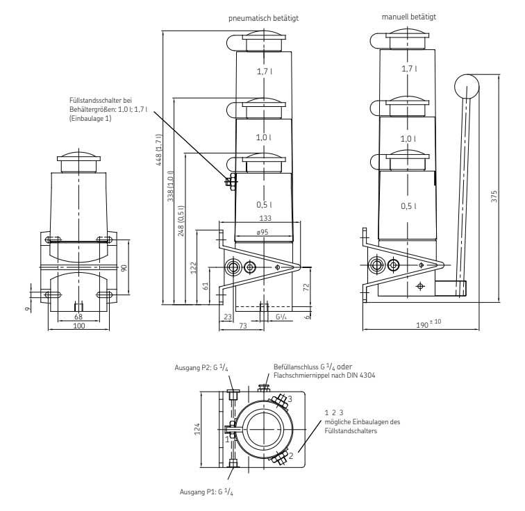 POEP-15 Technische Zeichnungen