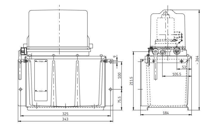 KFU6-20 Maßbild