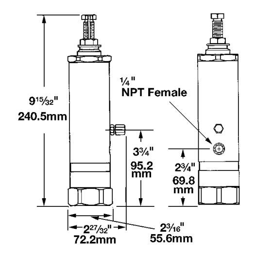 SL-11 Verteiler Maßbild