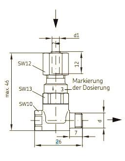 Maßbild MonoFlex 321W