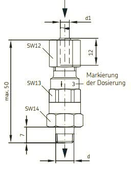 Maßbild MonoFlex 321G