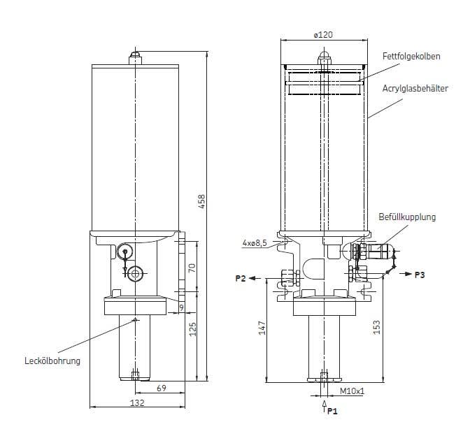 PFH-23-2 / PFH-23-22 Zeichnung