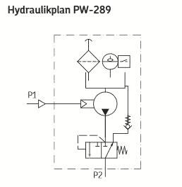 Hydraulikplan PW-289