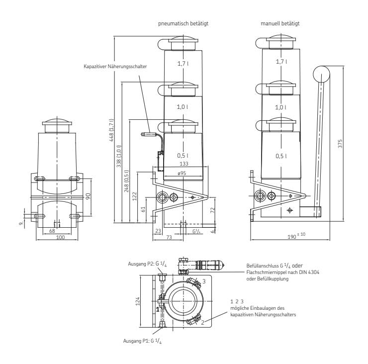 PFEP-15 Technische Zeichnungen